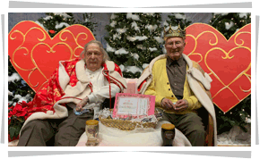 Residents at annual King & Queen crowning event
