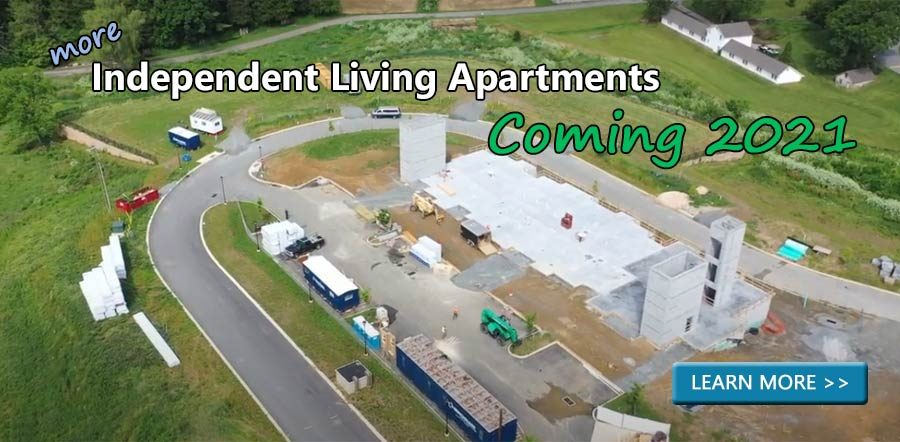 More Independent Living Apartments Coming 2021. Learn More >>