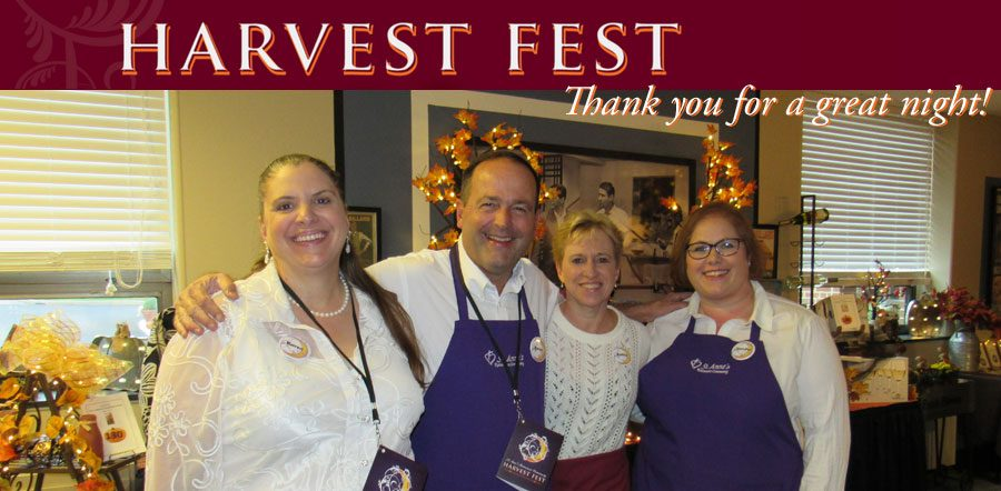 Harvest Fest - Thank you for another great event