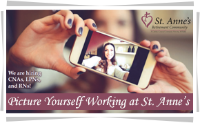 Picture Yourself Working at St. Anne's
